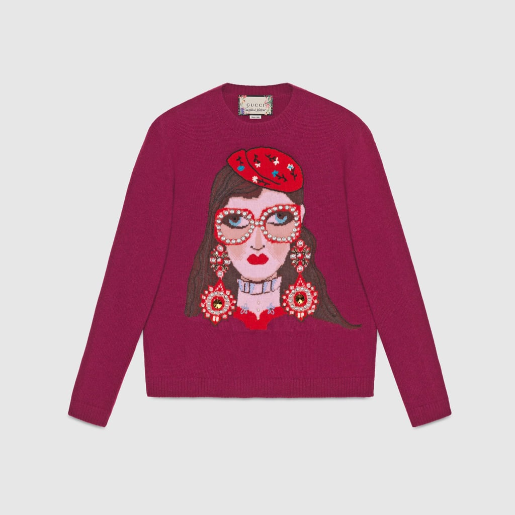 2ae08406bce Gucci Unskilled Worker Wool Sweater