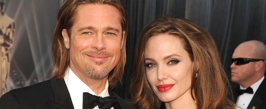 Angelina Jolie and Brad Pitt Launch Rosé Champagne Wine