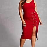 Forever 21 FOREVER 21+ Plus Size Lace-Up Dress