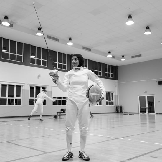 Emirati Fencer Asma Al Janahi