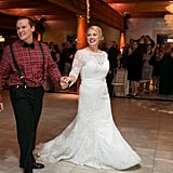 Plaid Holiday Wedding