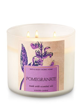 Pomegranate candle ($25)