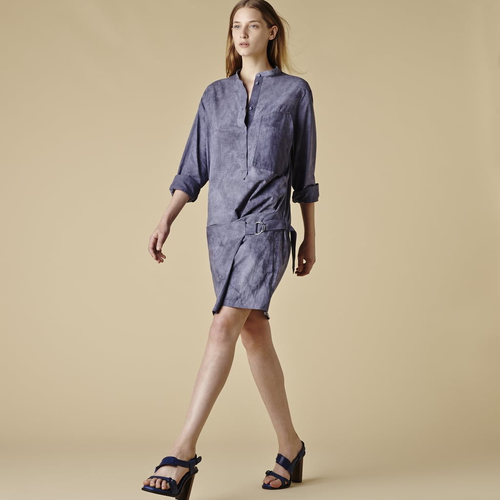 This Lacoste wrap dye dress ($370) is completely versatile, not to mention well made. Wear it to brunch with flats and to the office with wedges or power heels.