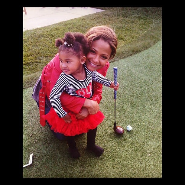 Christina Milian's Lil Links Cutie