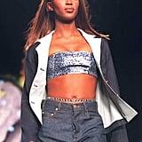 1997: I Dream of Jeannie Ponytails