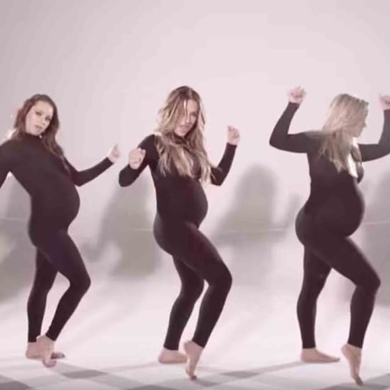 """Flip My Hair"" Music Video With Pregnant Women"