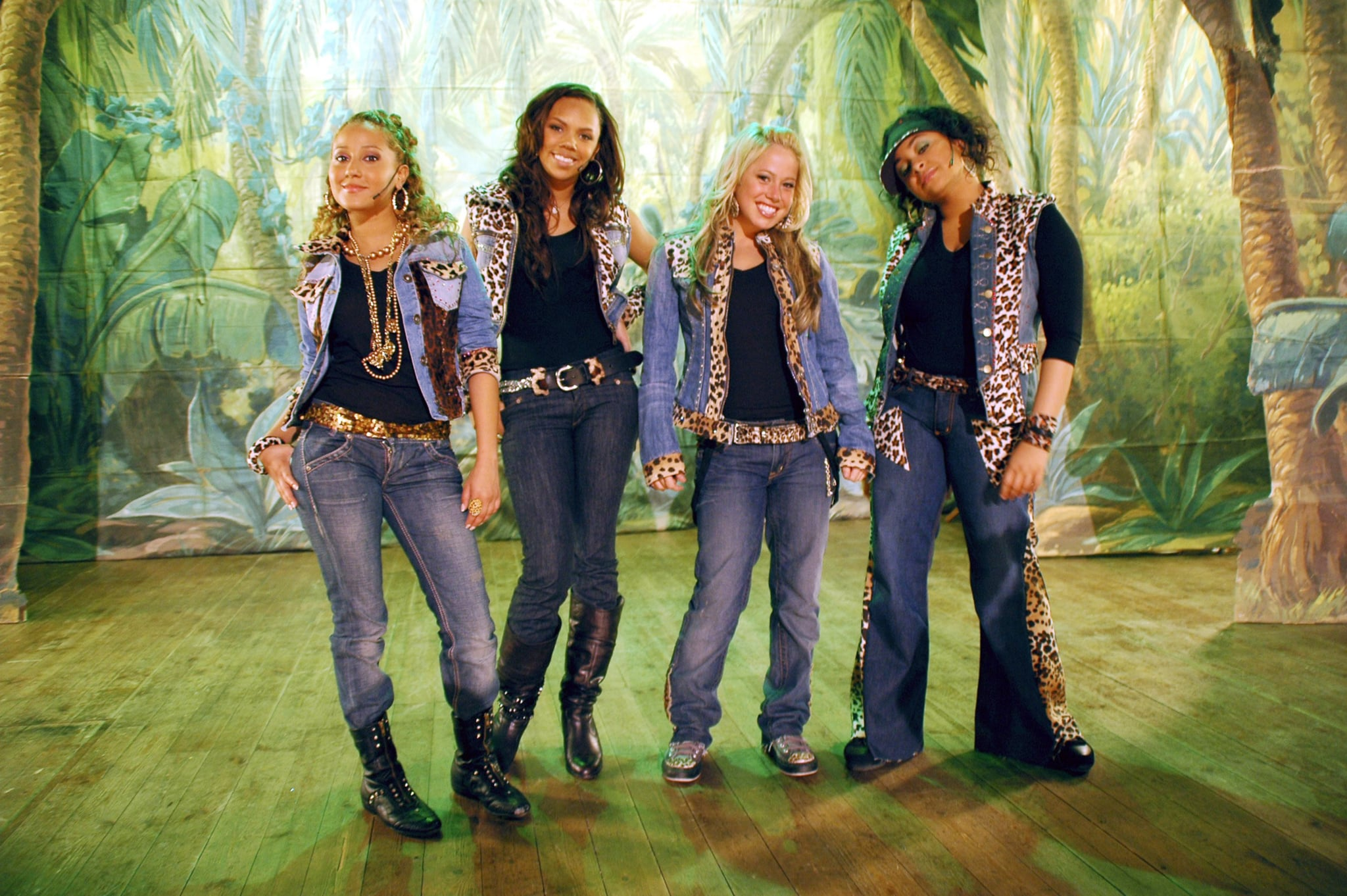 CHEETAH GIRLS 2: WHEN IN SPAIN, Adrienne Bailon, Kiely Williams, Sabrina Bryan, Raven-Symone,  2006,  Disney Channel / Courtesy: Everett Collection