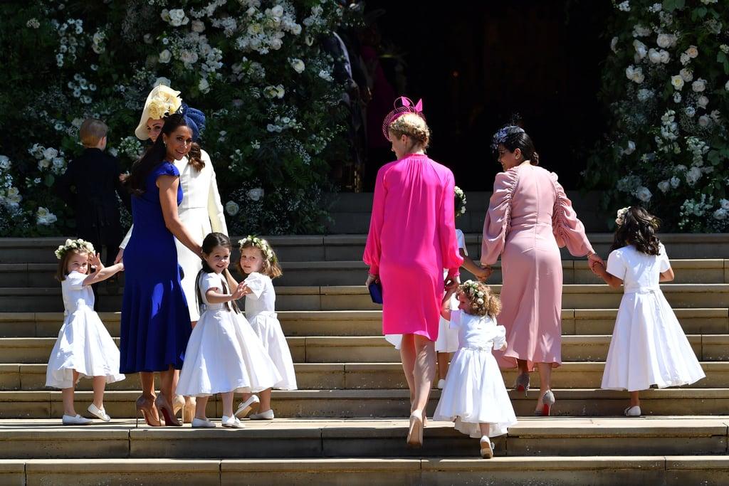 Jessica Mulroney's Blue Dress at Royal Wedding 2018
