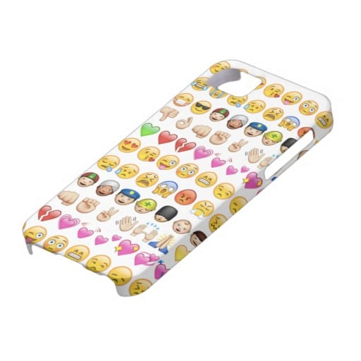 Emoji Phone Case For iPhone 5 Only ($40)
