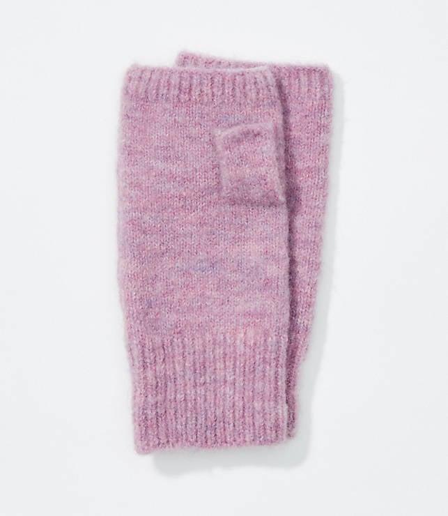 Heathered Fingerless Gloves