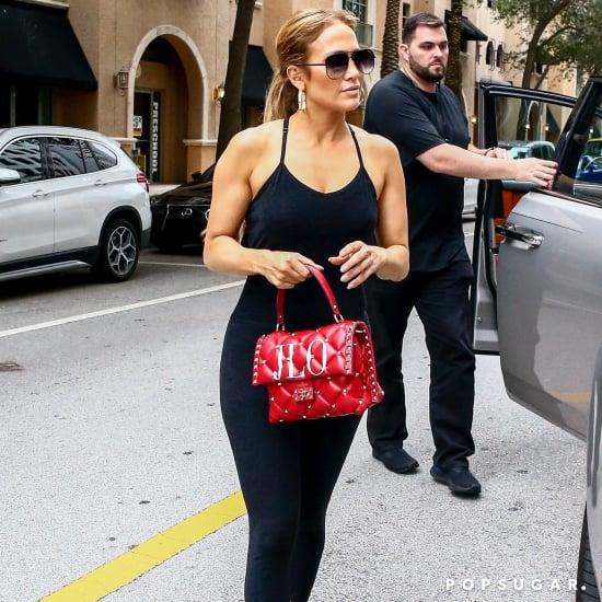 Jennifer Lopez J Lo Red Valentino Bag