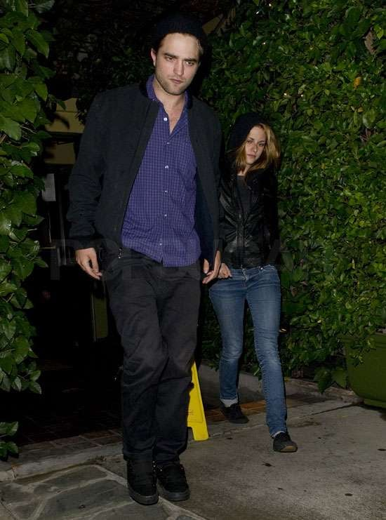 Pictures of Robert Pattinson and Kristen Stewart Together on a Date