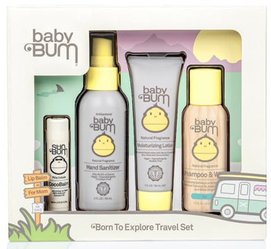 Baby Bum Born to Explore Travel Set