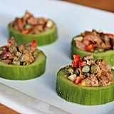Cucumber Cups With Tapenade