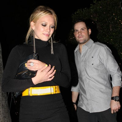 Hilary Duff and Mike Comrie Out in LA