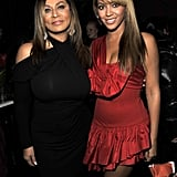 The mother-daughter duo were side by side at the launch party for Beyoncé's first fragrance, Beyoncé Heat.