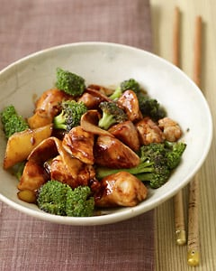 Fast and easy chinese chicken and broccoli recipe popsugar food when i order chinese food one of my preferred dishes is broccoli beef i love the slippery sauce the chewy beef and the crisp broccoli forumfinder Choice Image