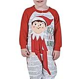 Toddler's Elf on the Shelf Onesie