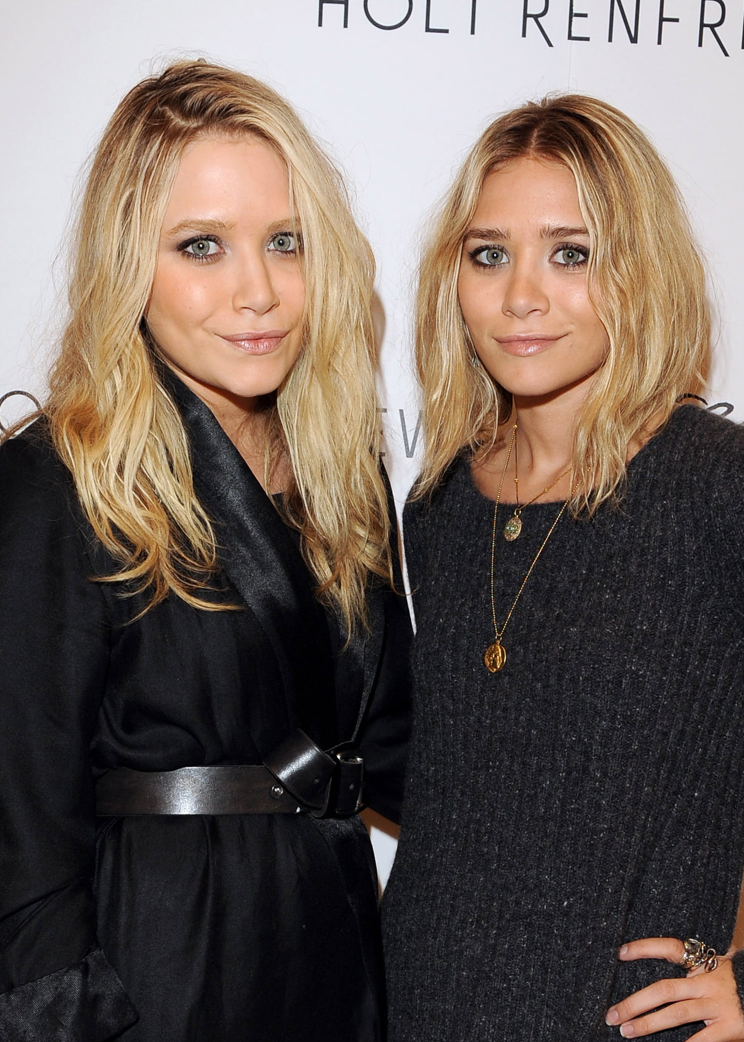 At a 2009 event for their fashion label Elizabeth and James, the two went for another similar look, except Ashley had a slightly shorter cut.