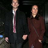 Pippa Middleton in Kate Spade Dress With Fox Print