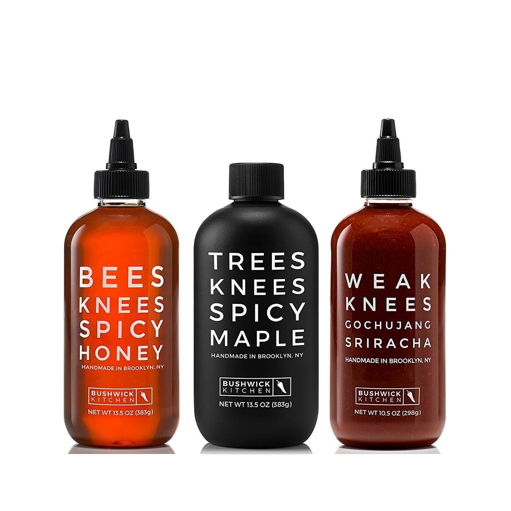 Bushwick Kitchen Threes Knees Spicy Trio ($40)