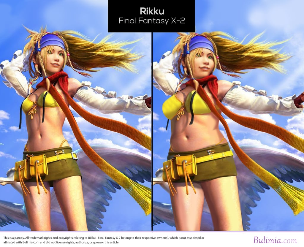 Final fantasy x rikku sex scene