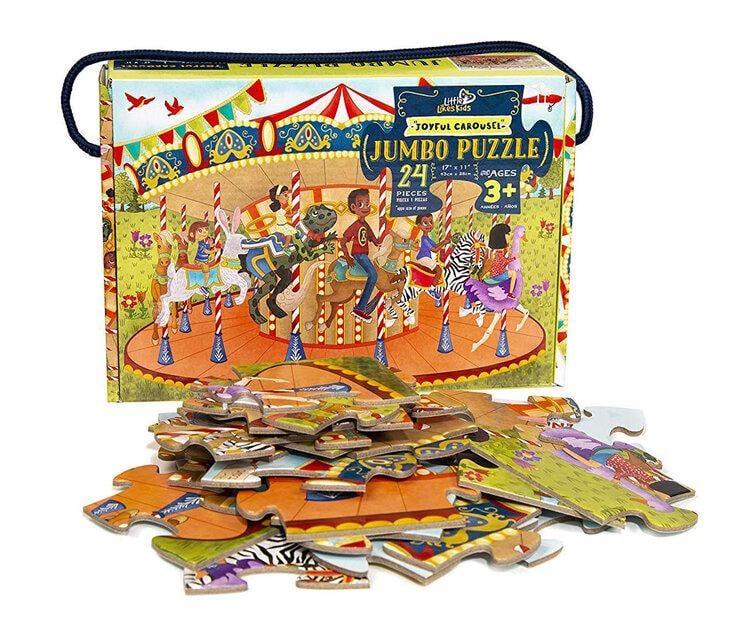 Joyful Carousel Jumbo Puzzle