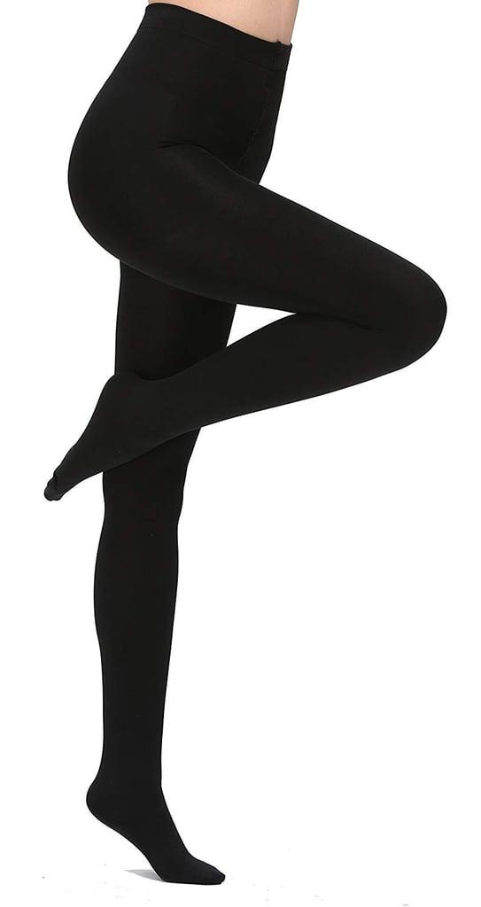Aphro Women's Opaque Fleece Lined Tights