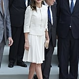 Queen Letizia of Spain Is Embracing Summer's Most Classic Trend