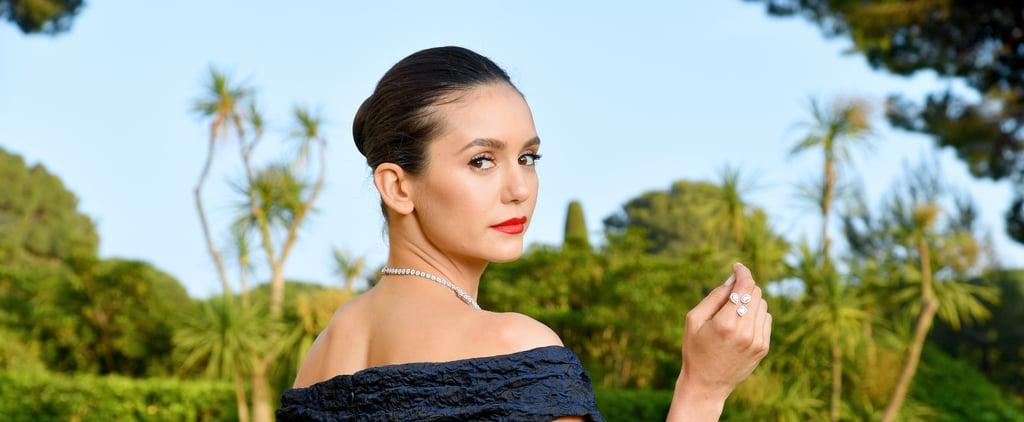 Nina Dobrev No-Makeup Selfie
