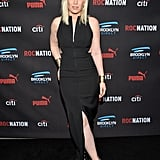 Natasha Bedingfield showed some leg.