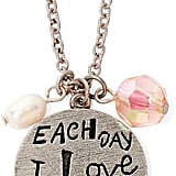 """Messages From the Heart """"I Love You More"""" Pendant Necklace"""