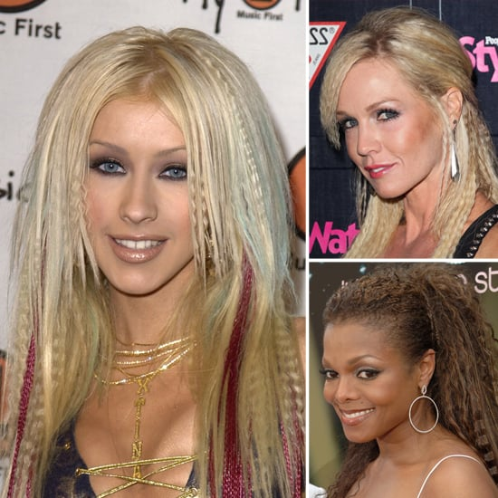Celebrities Wearing Crimped Hair Popsugar Beauty