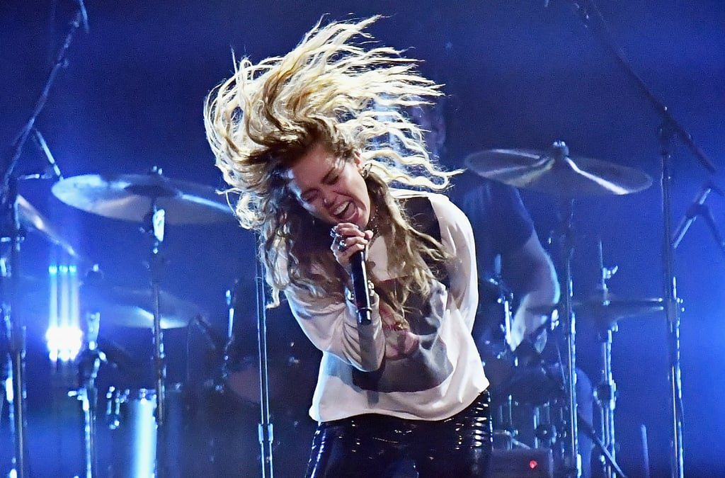 """Miley Cyrus Pours Her Heart and Soul Into """"Say Hello 2 Heaven"""" Cover at Chris Cornell Tribute"""