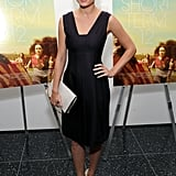 Brie Larson arrived for New York's Short Term 12 premiere in Calvin Klein Collection's sleek designs.