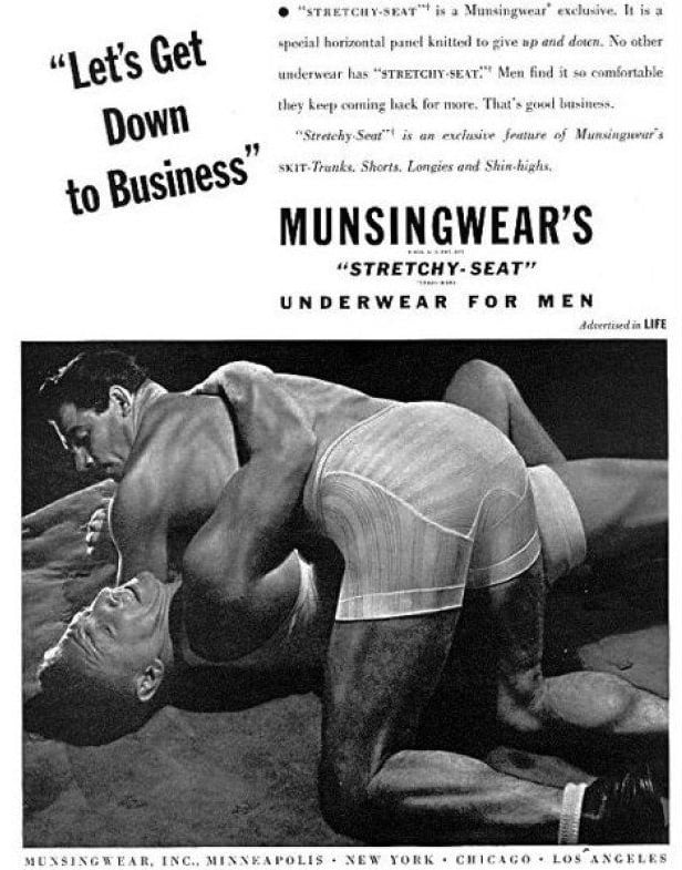 """This """"stretchy seat"""" underwear is ready for getting down to business."""
