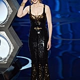 Nicole Kidman presented best picture nominees at the 2013 Oscars.