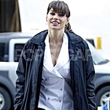 Pictures of Sofia Vergara on Set of New Year's Eve