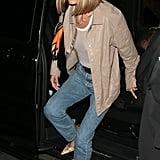 Bella Hadid's Bob Haircut in London