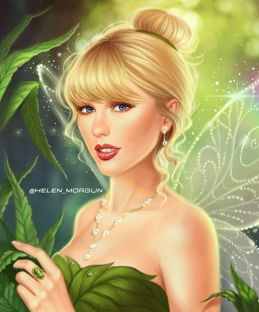 Taylor Swift as Tinker Bell