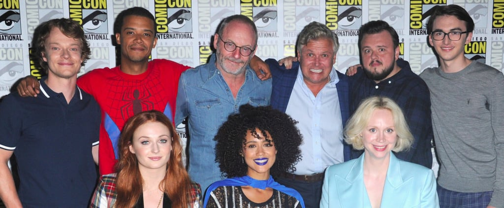 The Game of Thrones Cast Had a Blast at Comic-Con — With 1 Very Special Guest