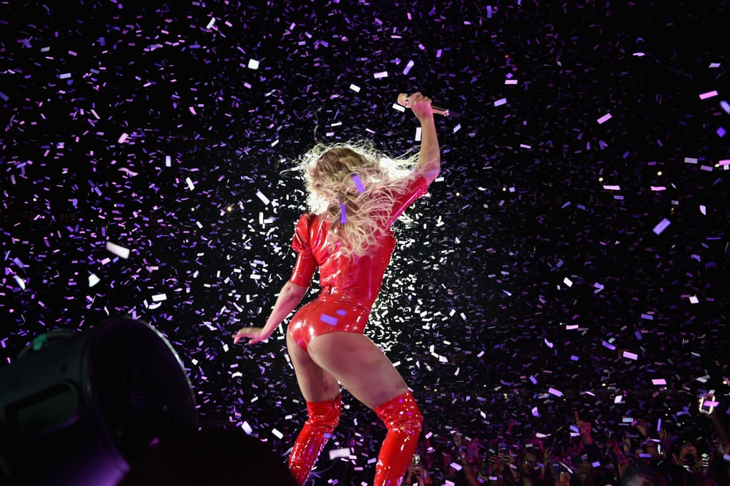 She broke it down during her Formation World Tour in NYC in June 2016.