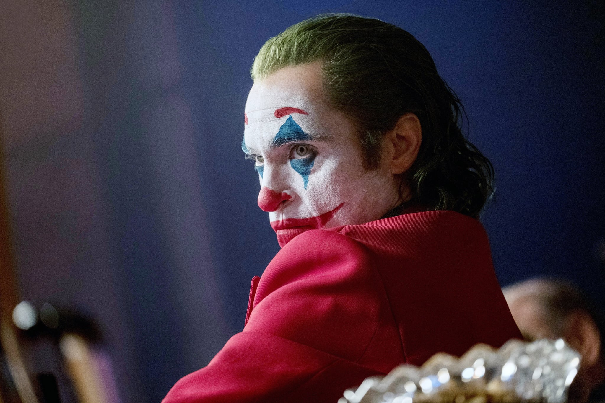 JOKER, Joaquin Phoenix as Arthur Fleck / Joker, 2019. ph: Niko Tavernise /  Warner Bros. / courtesy Everett Collection