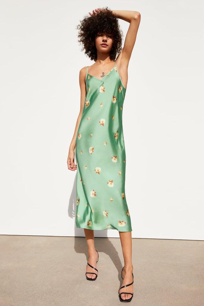 c3ecb73824f Zara Floral Print Dress