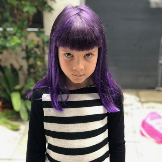 Pink's Daughter Willow Dyes Hair Purple