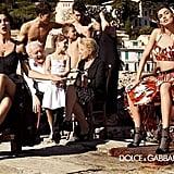 Va-va-voom glamour shines through in Dolce & Gabbana's ads. Source: Fashion Gone Rogue