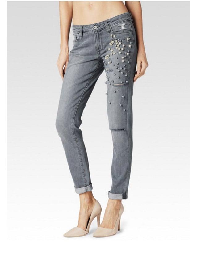 Paige Denim Jimmy Jimmy Skinny 'Dolly' Embellished Jean ($359)