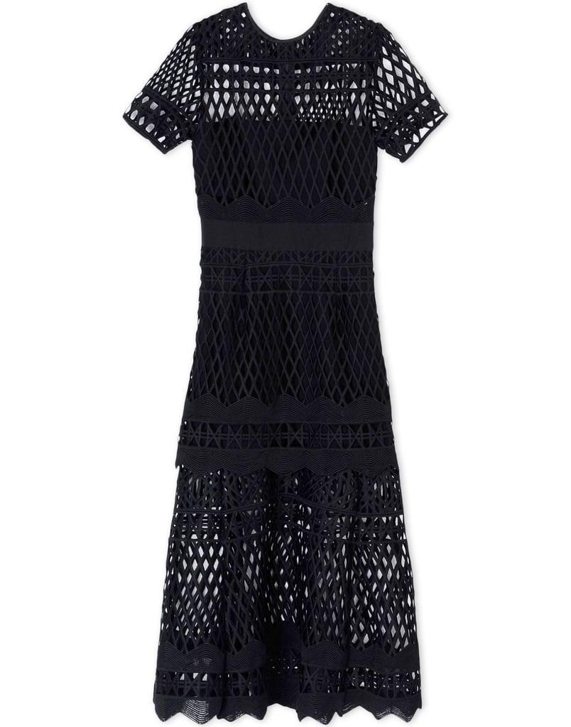 Self-Portrait 3/4 Length Dress ($530)