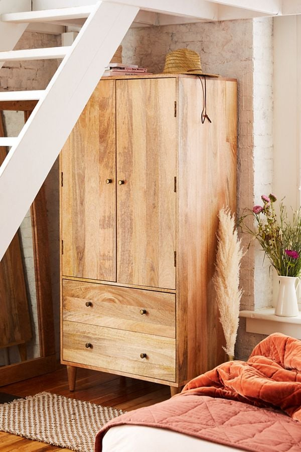 Amelia Armoire | Best Bedroom Furniture For Small Spaces | POPSUGAR ...