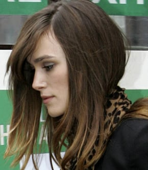 Photo of Keira Knightley Wins Best Pout in Poll Beating Angelina Jolie and Kylie. Worst Pout is Leslie Ash and Amy Winehouse
